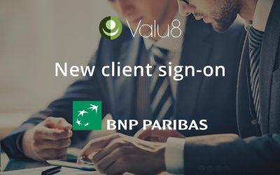 BNP Paribas selects Valu8
