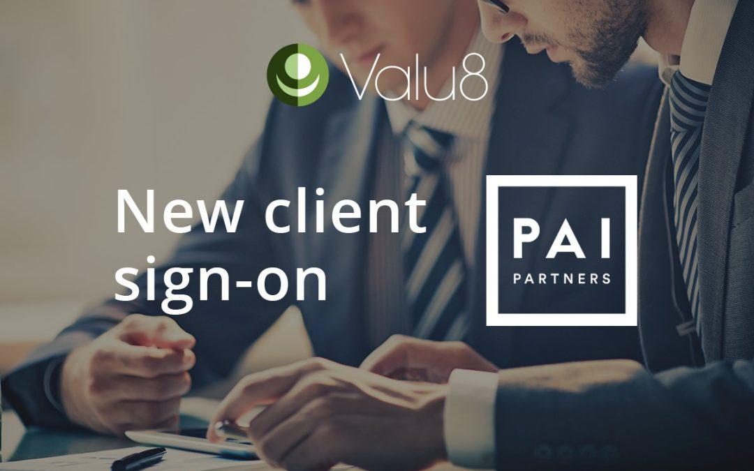 PAI Partners selects Valu8 Company Intelligence