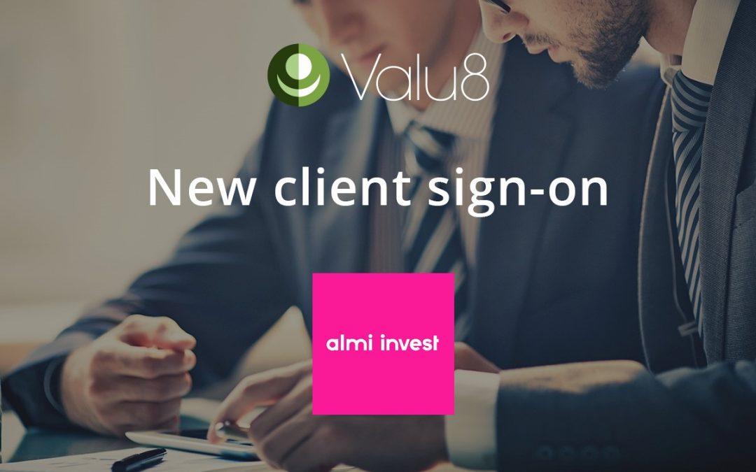 Almi Invest selects Valu8 Company Intelligence