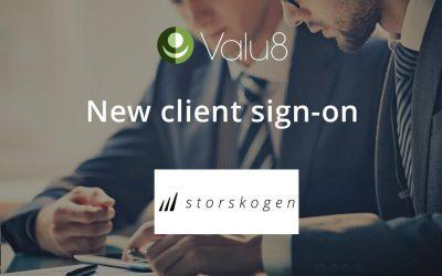 Storskogen selects Valu8