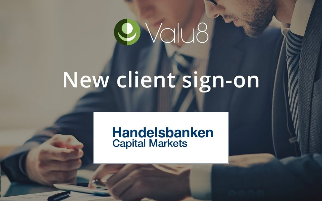 Handelsbanken Capital Markets in Sweden and Finland selects Valu8