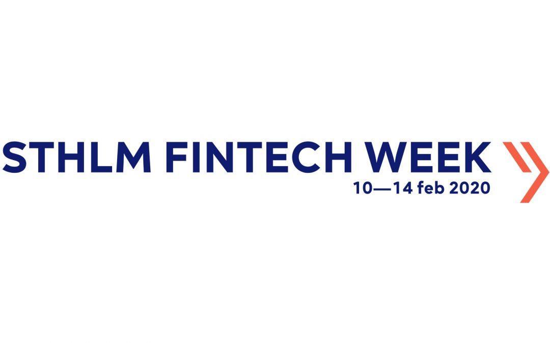 Valu8 to participate in Sthlm Fintech Week 10-14 February 2020