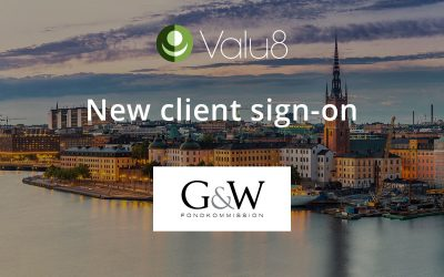G&W Fondkommission selects Valu8 as its data and software application provider