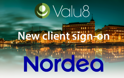 Nordea Investment Banking in Finland has selected Valu8 as its data and software application provider.