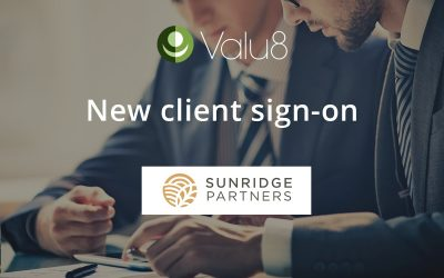 Sunridge Partners selects Valu8 as its data and software application provider