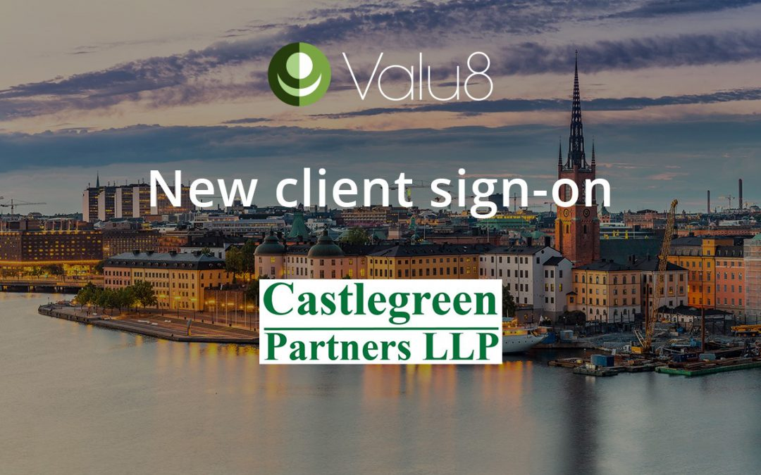 Castlegreen Partners selects Valu8 as its data and software application provider