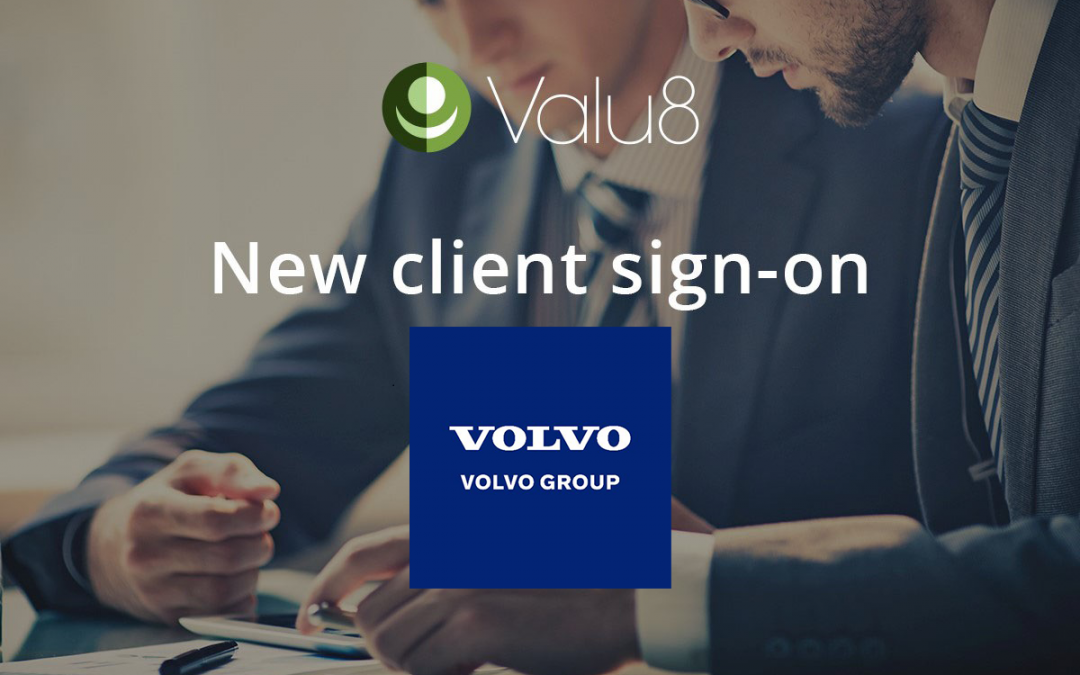 Volvo Corporate Finance selects Valu8