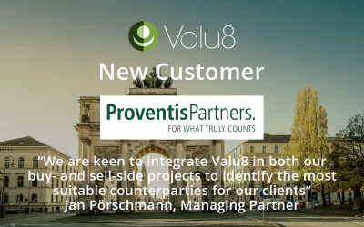 Proventis Partners GmbH to use Valu8